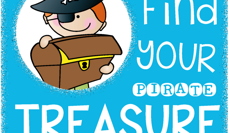 Find your Pirate Treasure Linky with Freebie!