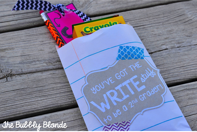 You've got the WRITE stuff!  {B2S label-Freebie}