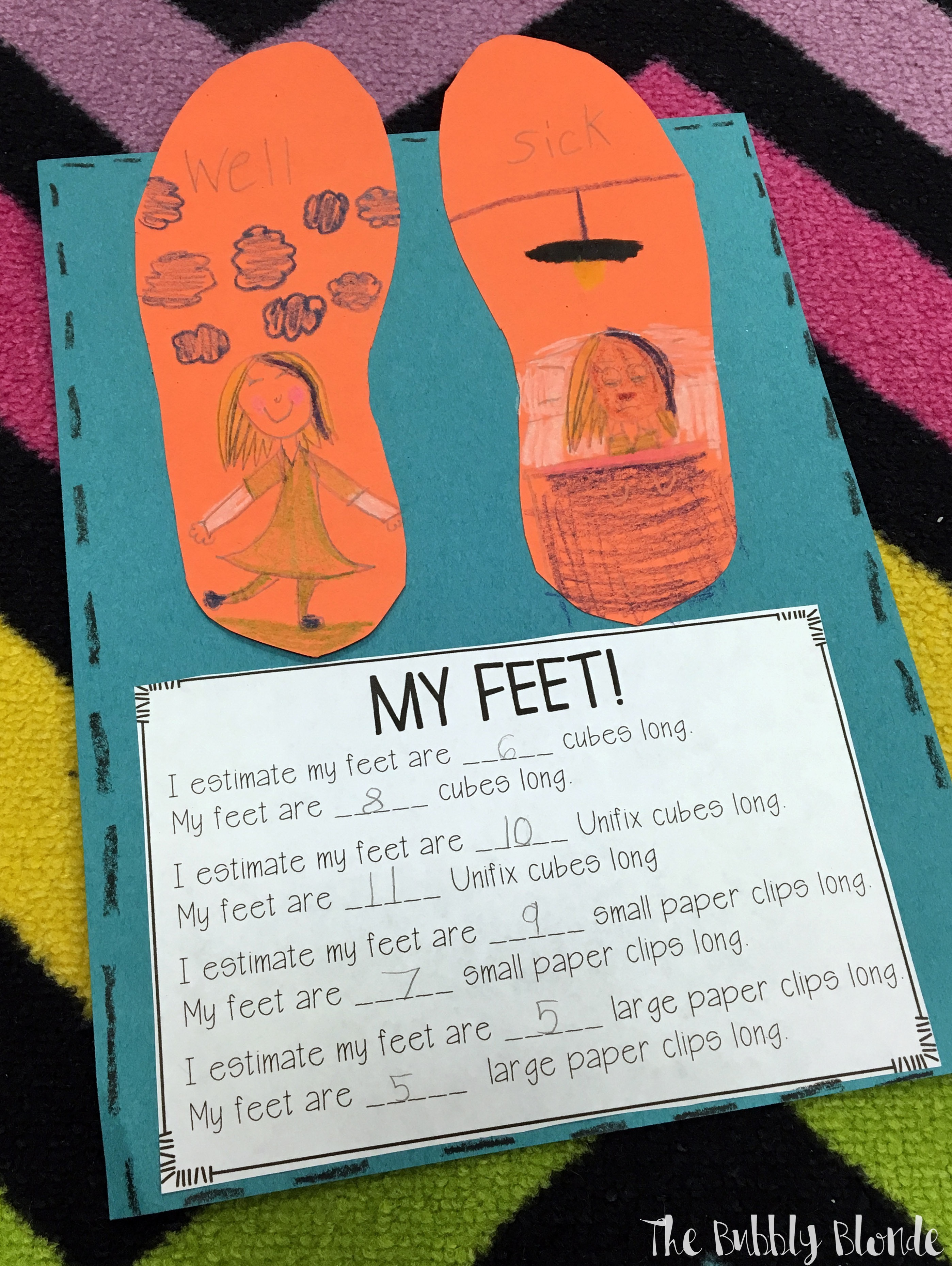 measuring with the foot book the bubbly blonde teacher. Black Bedroom Furniture Sets. Home Design Ideas