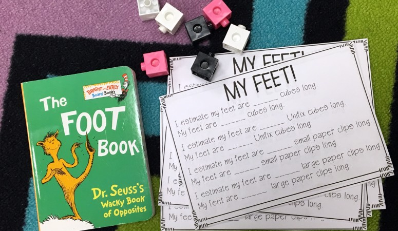 "Measuring with ""The Foot Book!"""